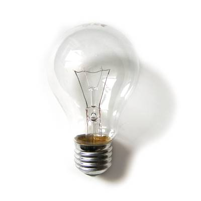 Simple Light Bulb Photo Gallery