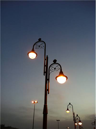 History Of Street Lighting Development